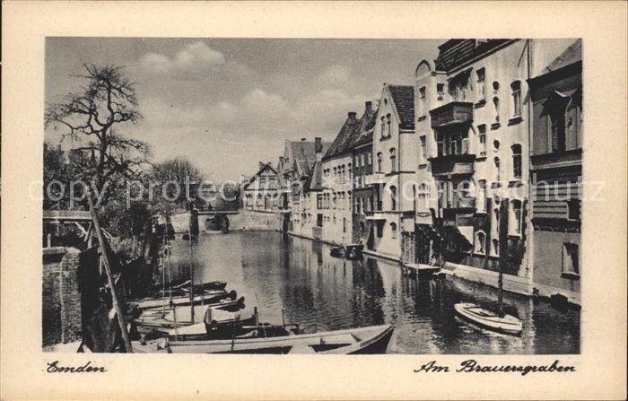 Emden Ostfriesland Brauergraben / Emden /Emden Stadtkreis