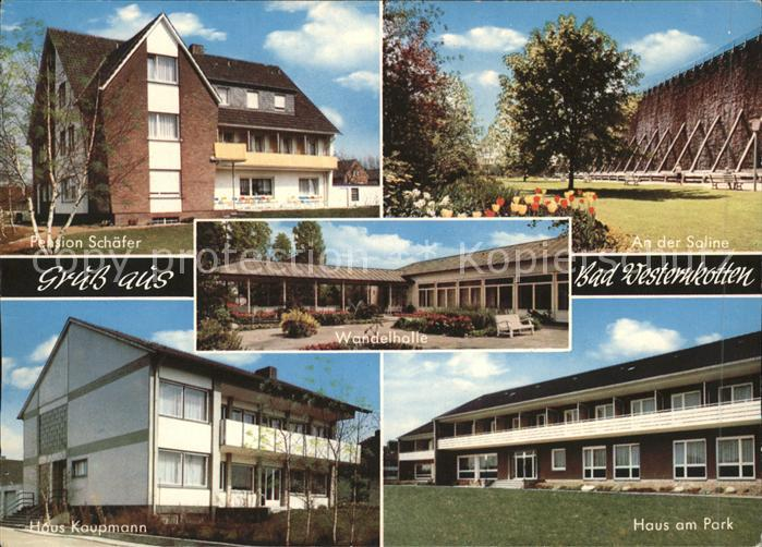 Bad Westernkotten Haus am Park Saline Haus Kaupmann Kat. Erwitte