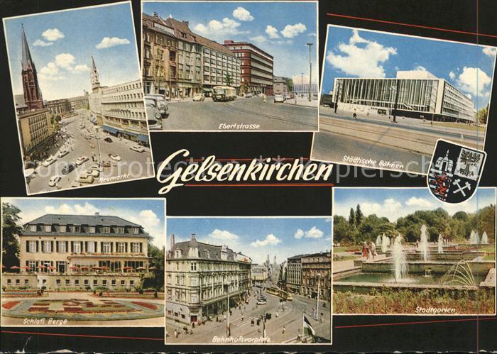 Gelsenkirchen Wappen Stadtgarten Bahnhofsvorplatz Kat. Gelsenkirchen