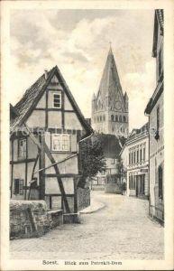 Soest Arnsberg Blick zum Patrokli Dom / Soest /Soest LKR