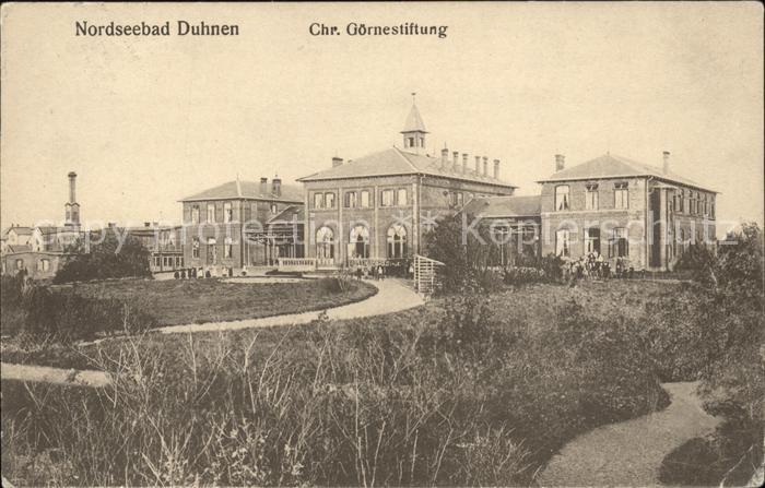 Duhnen Chr Goerne Stiftung Kat. Cuxhaven