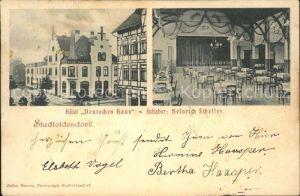 Stadtoldendorf Hotel Deutsches Haus Kat. Stadtoldendorf