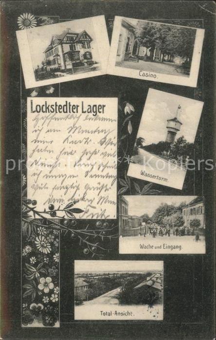 Lockstedt Lockstedter Lager Casino Wasserturm Wache Total Kat. Lockstedt