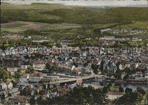 Hameln Panorama Weserbruecke Kat. Hameln