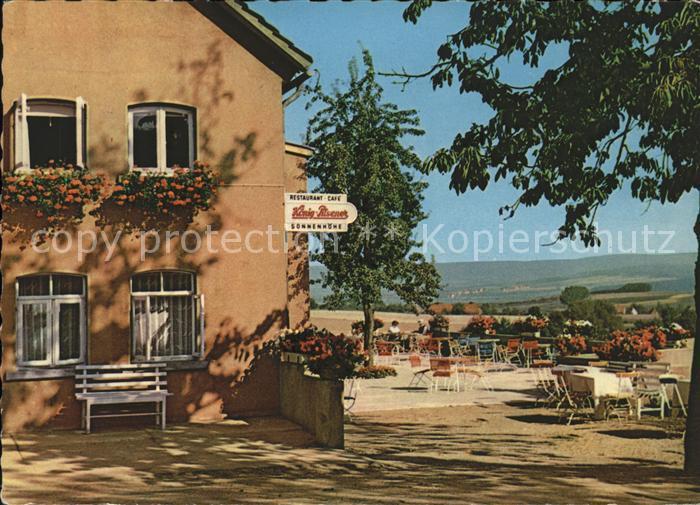 Bannensiek Hotel Pension Sonnenhoehe Terrasse Kat. Hameln