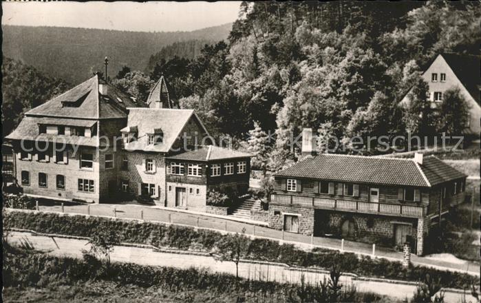 Elmstein Ferienheim des Touristen Vereins