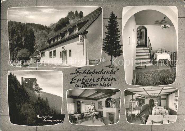 Erfenstein Schlossschenke u.Burgruine Spangenberg Kat. Esthal