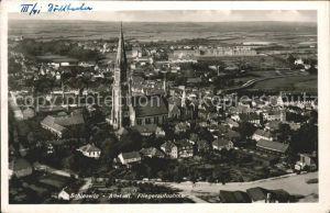 Schleswig Holstein Fliegeraufnahme / Schleswig /Schleswig-Flensburg LKR