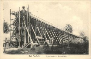 Bad Nauheim Gradierbauten mit Strandkoerben Triumph Karte No. 45 Kat. Bad Nauheim