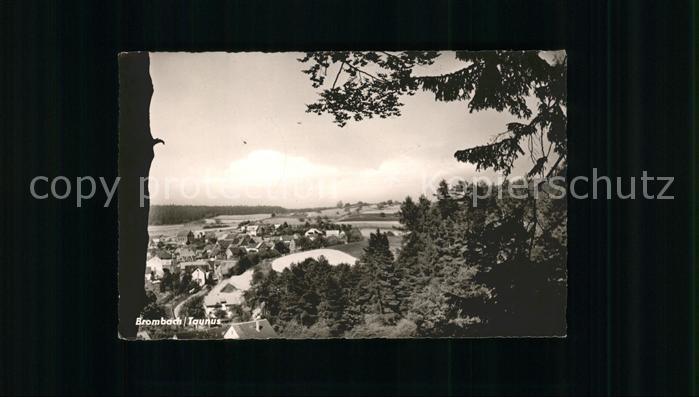 Brombach Schmitten Panorama Kat. Schmitten