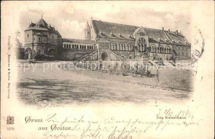 Goslar Das Kaiserhaus Kat. Goslar