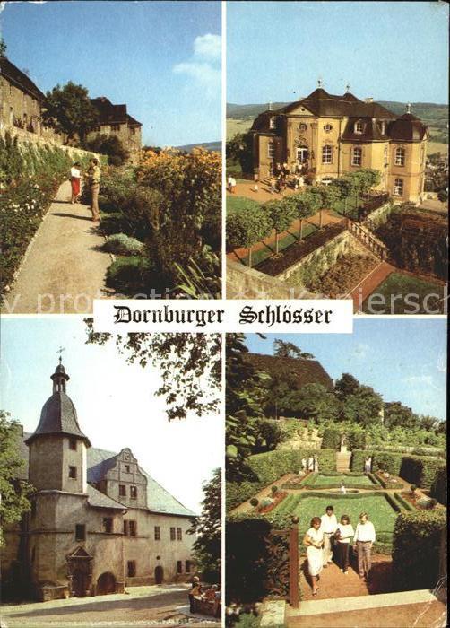 Dornburg Saale Dornburger Schloesser Kat. Dornburg Saale