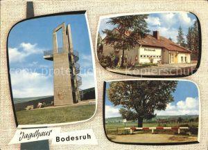 Heringen Werra Jagdhaus Bodesruh Kat. Heringen (Werra)
