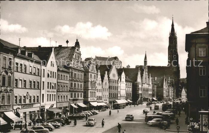 Landshut Altstadt Kat. Landshut