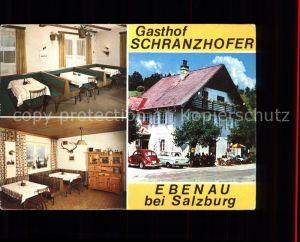 Ebenau Gasthof Schranzhofer im Wiestal Kat. Ebenau