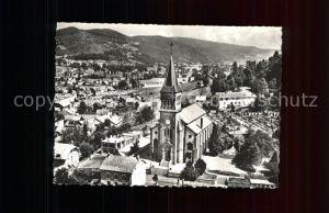 Le Thillot Vue partielle avec l Eglise Kat. Le Thillot