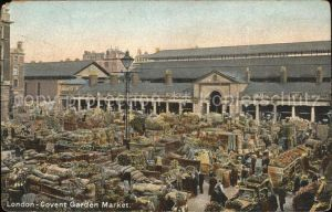 London Covent Garden Market Kat. City of London