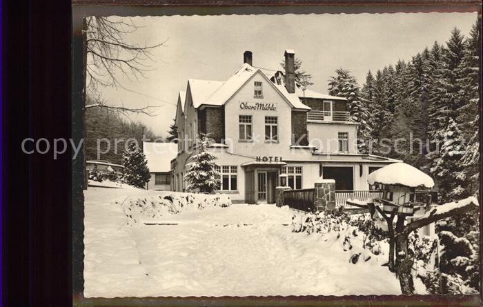 Rengsdorf Hotel Pension Waldcafe Obere Muehle Kat. Rengsdorf