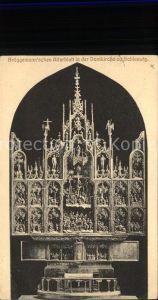 Schleswig Holstein Brueggemann`sches Altarblatt in der Domkirche (Feldpost) / Schleswig /Schleswig-Flensburg LKR