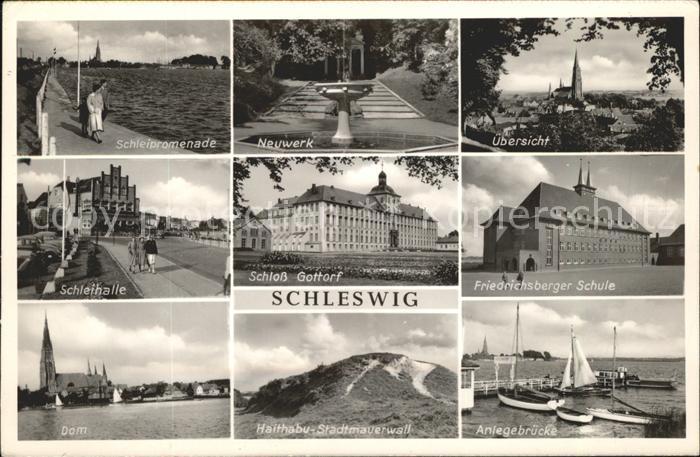 Schleswig Holstein Schleihalle, Dom u.Friedrichsberger Schule / Schleswig /Schleswig-Flensburg LKR