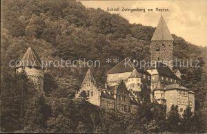 Zwingenberg Bergstrasse Schloss Zwingenberg Kat. Zwingenberg