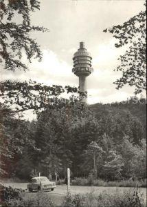 Funkturm Kyffhaeuser Fernseh Sendeturm Kulpenburg Kat. Bruecken