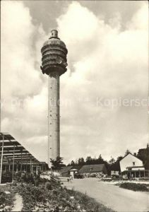 Funkturm Kyffhaeuser Fernseh Sendeturm Kulpenberg Kat. Bruecken