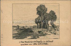 Ubbelohde Otto Hessisches Dorf Nr. 197  Kat. Kuenstlerkarte