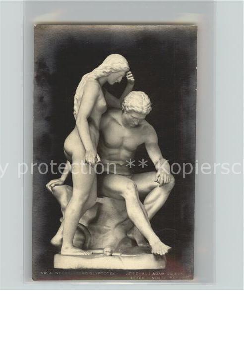 Skulpturen Frau und Mann Kat. Skulpturen