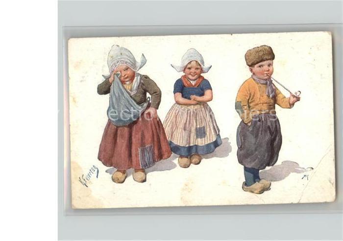 Feiertag Karl Nr. 887 kINDER  Kat. Kuenstlerkarte