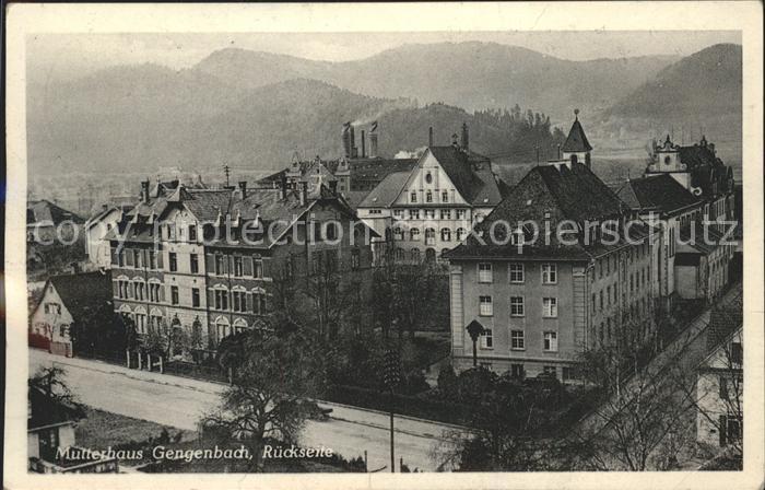 Gengenbach Mutterhaus der Franziskanerinnen Kat. Gengenbach