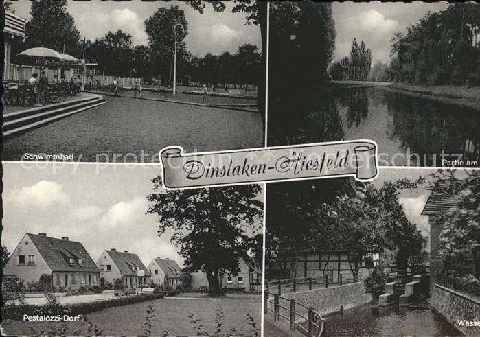 Hiesfeld Pestalozzi Dorf Schwimmbad Kat. Dinslaken