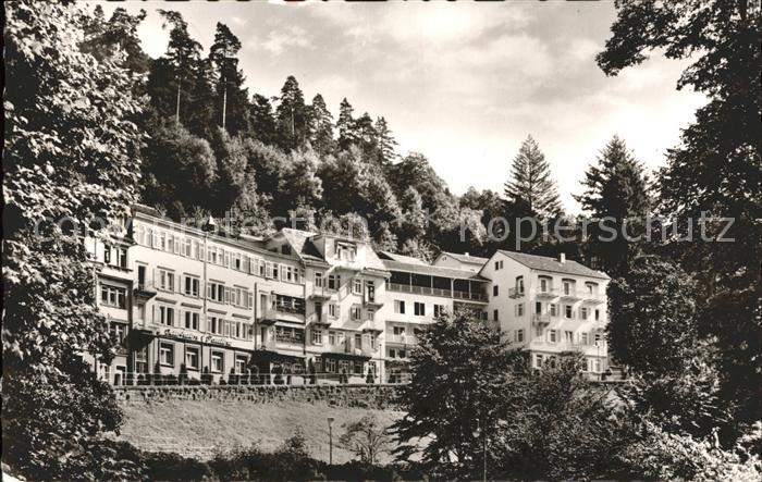 Wildbad Schwarzwald Kurheim Pauline Kat. Bad Wildbad