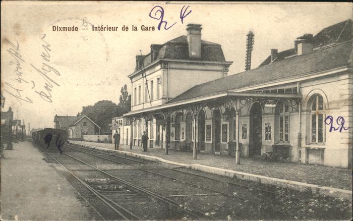 aw02259 Dixmude Interieur de la Gare Kategorie.  Alte Ansichtskarten