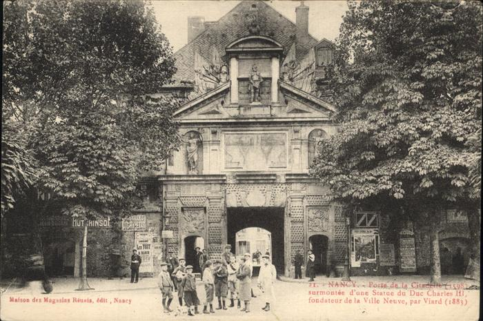 Nancy Lothringen Porte de la Citadelle / Nancy /Arrond. de Nancy