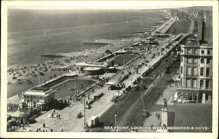 Brighton East Sussex Sea Front / Brighton East Sussex /