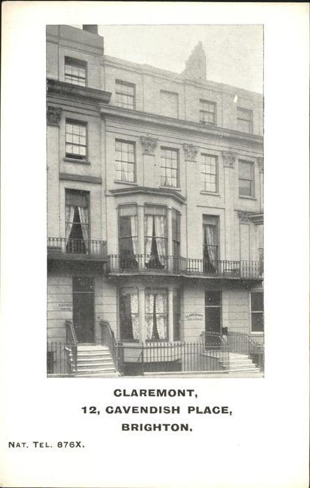 Brighton East Sussex Claremont Cavendish Place / Brighton East Sussex /