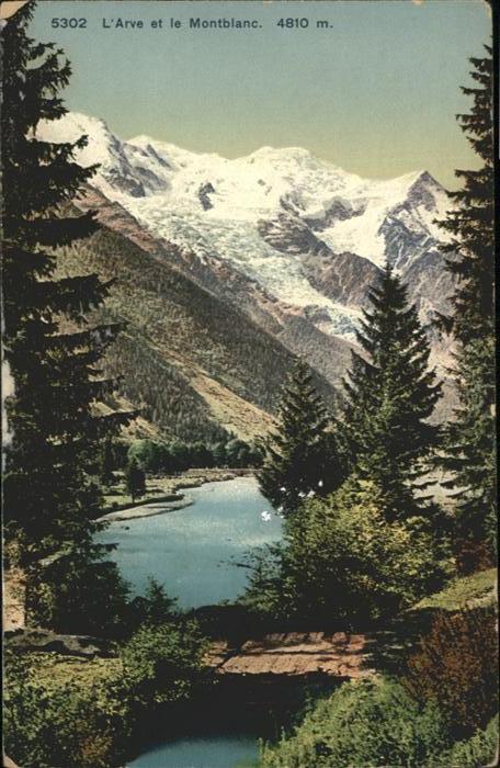 Montblanc L`Arve Montblanc / Chamonix-Mont-Blanc /Arrond. de Bonneville