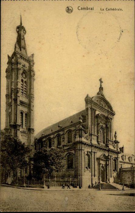 Cambrai Cambrai Cathedrale x / Cambrai /Arrond. de Cambrai