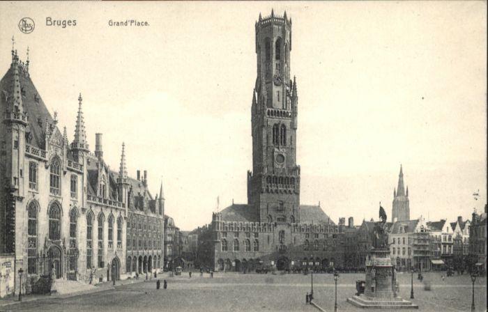 Bruges Flandre Bruges Grand Place * /  /