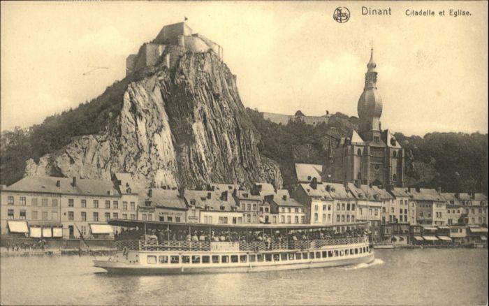 Dinant Wallonie Dinant Citadelle Eglise * / Dinant /Province de Namur