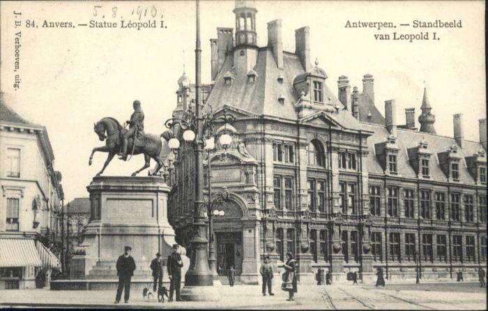Anvers Antwerpen Anvers Antwerpen Statue Leopold Standbeeld  x /  /