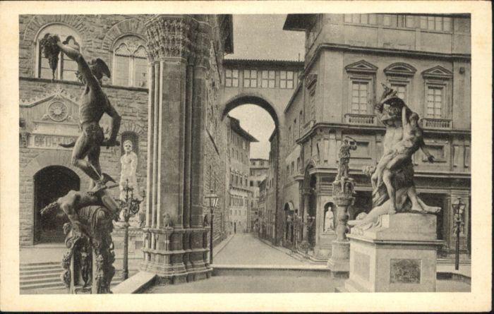 Firenze Toscana Firenze Loggia de Lanzi * / Firenze /