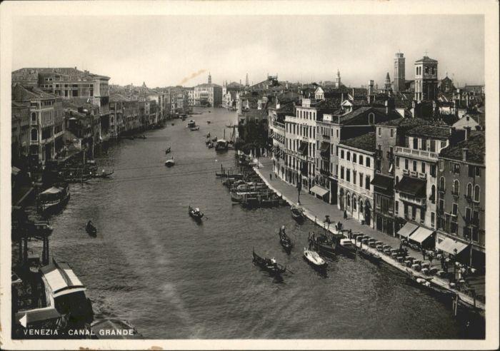 Venezia Venedig Venezia Canal Grande Schiff * /  /