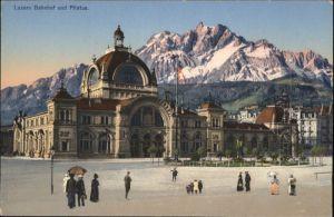 Luzern LU Luzern Bahnhof Pilatus * / Luzern /Bz. Luzern City