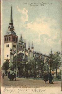 Ausstellung Industrie Gewerbe Kunst Duesseldorf 1902  Bochumer Verein Bergbau