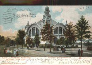 Ausstellung Kunst Gartenbau Duesseldorf 1904  Pavillon Sonderausstellungen