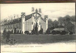 Ausstellung Kunst Gartenbau Duesseldorf 1904  Blumenhalle