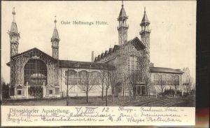 Ausstellung Industrie Gewerbe Kunst Duesseldorf 1902  Gute Hoffnungs Huette