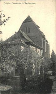 Wenigenjena Schillers Traukirche / Jena /Jena Stadtkreis
